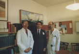 Peter Black, Enrique Osorio, Michael Scott. Bringham and Women's Hospital lab. Harvard University. Boston - USA 1988