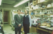 Enrique Osorio, Kenneth Kosik. Brigham and Women's Hospital lab. Havard University. Boston - USA 1988