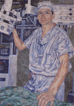Oil on Canvas by Maestro Jesús Marquín. 1994