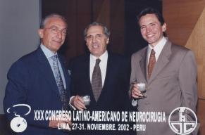 Madjid Samii, Jorge Méndez, Enrique Osorio. Lima - Perú 2002
