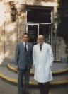 Enrique Osorio, Bernard Lown-- Boston - USA 1988