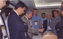 Dictando curso práctico durante el 15º Congreso de Actualización de la Sociedad Brasileña de Neurocirugía y el 14th Interim meeting of the World Federation of Neurosurgical Societies. Porto de Galinhas - Brasil 2011.