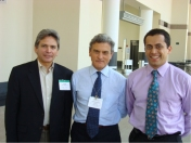 VI World Congress on Meningiomas. Enrique Osorio, Marc Sindou, Jorge Alvernia-- Boston, USA 2008