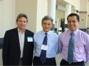 VI World Congress on Meningiomas. Enrique Osorio, Marc Sindou, Jorge Alvernia-- Boston, USA 2008