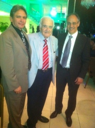 E. Osorio, Armando Basso, Marcos Tatagiba. Congreso de la ABNC - Natal 2009